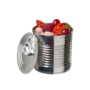 Boîte de nourriture 110ml – Métal
