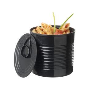 Boîte de nourriture 110ml – Noir