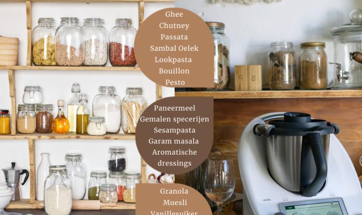 Voorraadkast organiseren Keuken opruimen Keuken gadgets 2021 Basisuitrusting keuken Handige keukensnufjes Keukenrobot