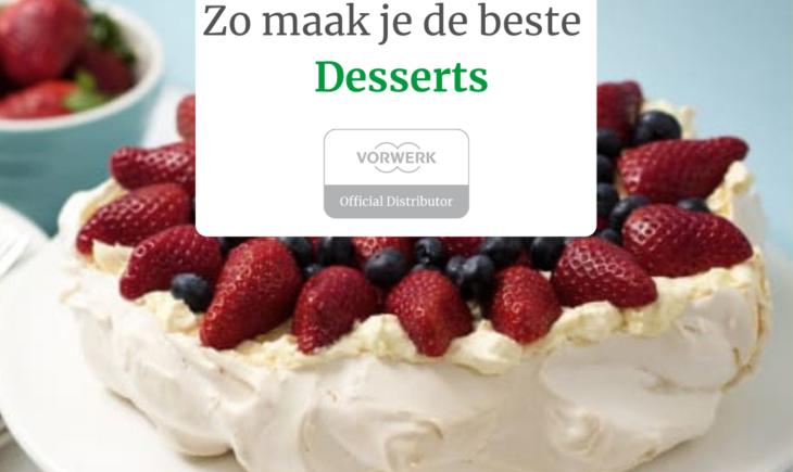 de beste desserts