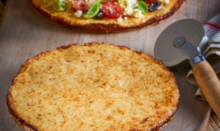 Bloemkool bodem pizza recept thermomix