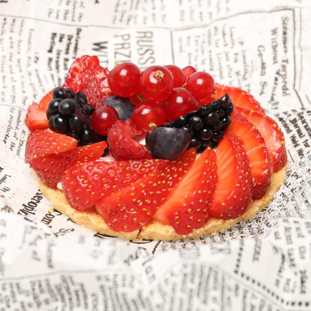 Fruittaartjes zonder bakken
